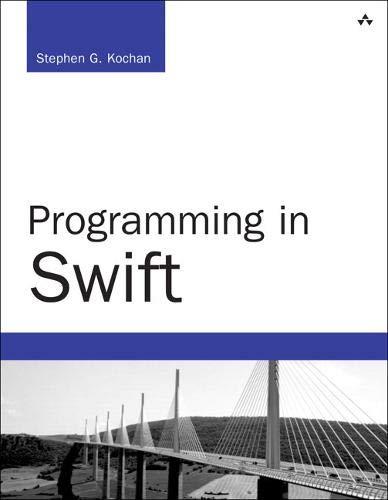 9780134037578: Programming in Swift (Developer's Library)