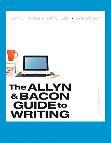 9780134038612: Allyn & Bacon Guide to Writing, The, Plus MyLab Writing with Pearson eText -- Access Card Package (7th Edition)