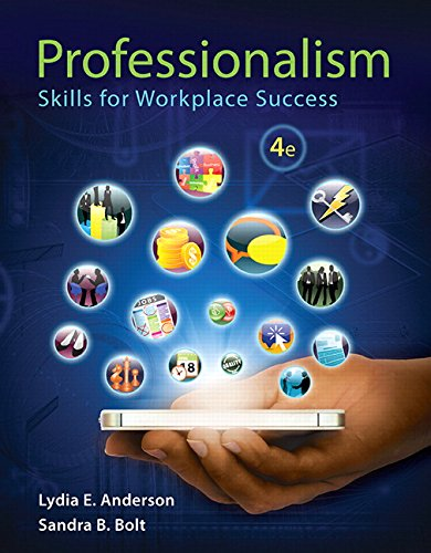 9780134039503: Professionalism: Skills for Workplace Success Plus NEW MyLab Student Success -- Access Card Package (4th Edition)