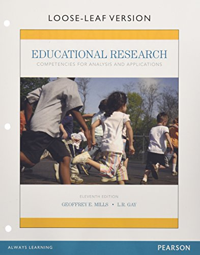 9780134041032: Educational Research: Competencies for Analysis and Applications, Enhanced Pearson Etext with Loose-Leaf Version -- Access Card Package