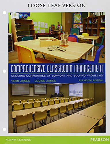 9780134041056: Comprehensive Classroom Management: Creating Communities of Support and Solving Problems, Enhanced Pearson eText with Loose-Leaf Version -- Access Card Package (11th Edition)