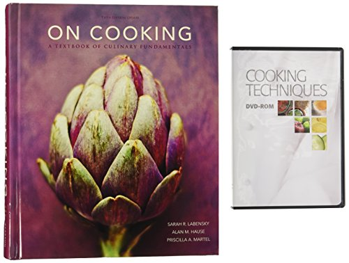9780134041285: On Cooking + Cooking Techniques Dvd