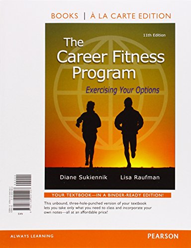 9780134041407: The Career Fitness Program: Exercising Your Options, Student Value Edition (11th Edition)