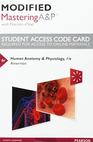 9780134042336: Human Anatomy & Physiology Modified Masteringa&p With ...