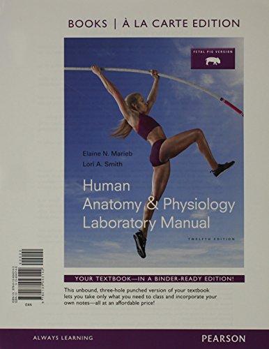 9780134043142: Human Anatomy & Physiology Laboratory Manual, Fetal ...