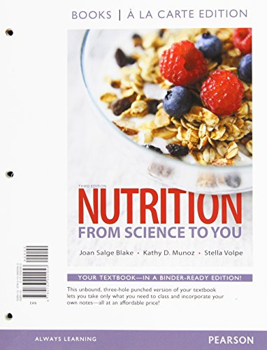 9780134043210: Nutrition: From Science to You, Books a la Carte Plus Mastering Nutrition with MyDietAnalysis with Pearson eText -- Access Card Package (3rd Edition)