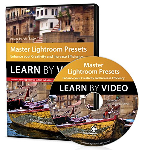 9780134044682: Master Lightroom Presets Learn by Video: Enhance Your Creativity and Increase Efficiency