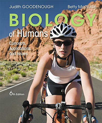 9780134045443: Biology of Humans: Concepts, Applications, and Issues (6th Edition)
