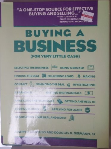 9780134048802: Buying a Business (For Very Little Cash)