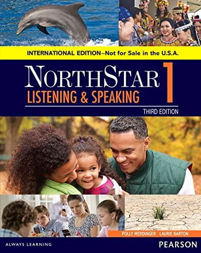 9780134049809: Northstar Listening and Speaking 1 Sb, International Edition