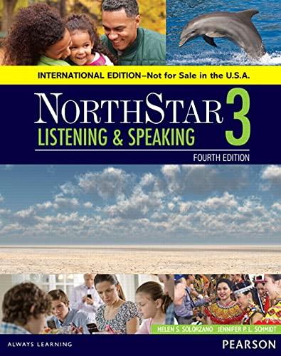 9780134049816: NorthStar Listening and Speaking 3 SB, International Edition (4th Edition)