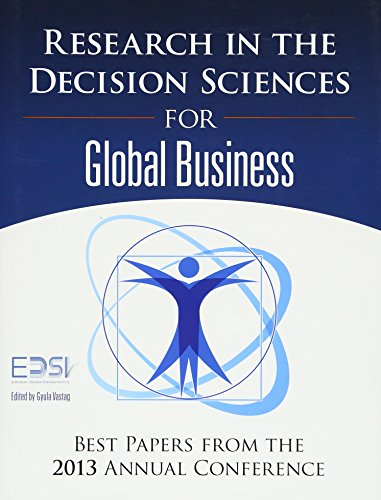 9780134052328: Research in the Decision Sciences for Global Business: Best Papers from the 2013 Annual Conference (FT Press Operations Management)