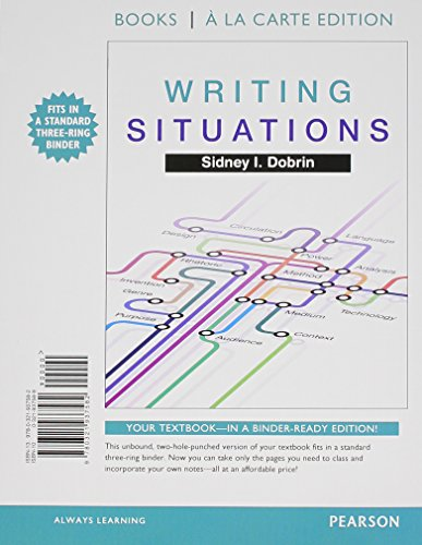 9780134053103: Writing Situations, Books a la Carte Plus MyLab Writing with Pearson eText -- Access Card Package