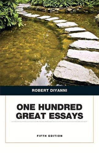 one hundred great essays 5th edition pdf free