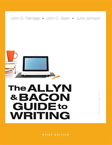9780134054247: Allyn & Bacon Guide to Writing, Brief Edition, The, Plus MyLab Writing with eText -- Access Card Packge (7th Edition)