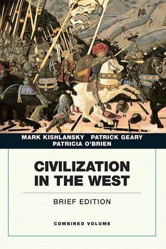 9780134056715: Civilization in the West