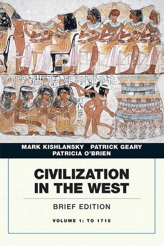 9780134056739: Civilization in the West, Volume 1