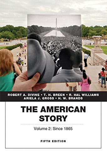 9780134057033: The American Story, Vol.2 (5th Edition)