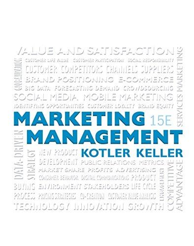 Marketing Management + Mymarketinglab With Pearson Etext: Kotler, Philip/ Keller,