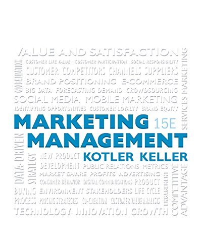 9780134058498: Marketing Management Plus MyLab Marketing with Pearson eText -- Access Card Package (15th Edition)