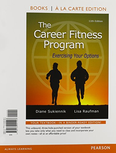 9780134059815: The Career Fitness Program: Exercising Your Options, Student Value Edition Plus NEW MyLab Student Success - Access Card Package (11th Edition)