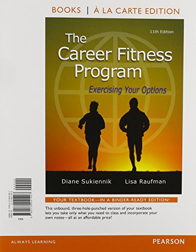 9780134059822: The Career Fitness Program: Exercising Your Options, Student Value Edition Plus NEW MyLab Student Success with Pearson eText (11th Edition)