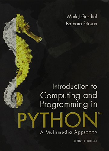 9780134059846: Introduction to Computing and Programming in Python plus MyLab Programming with Pearson eText -- Access Card Package (4th Edition)