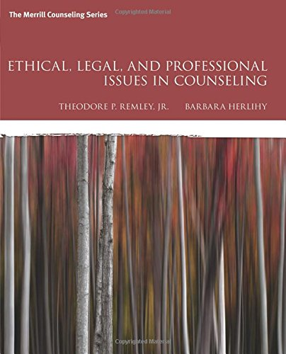 9780134061641: Ethical, Legal, and Professional Issues in Counseling (5th Edition)
