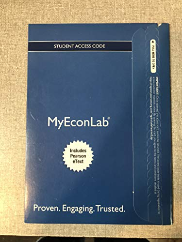 9780134062563: MyLab Economics with Pearson eText -- Access Card -- for Survey of Economics: Principles, Applications and Tools