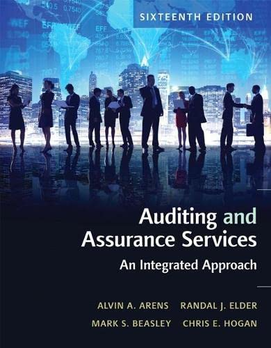 9780134065823: Auditing and Assurance Services (16th Edition)