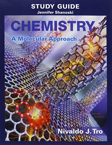 9780134066271: Study Guide for Chemistry: A Molecular Approach