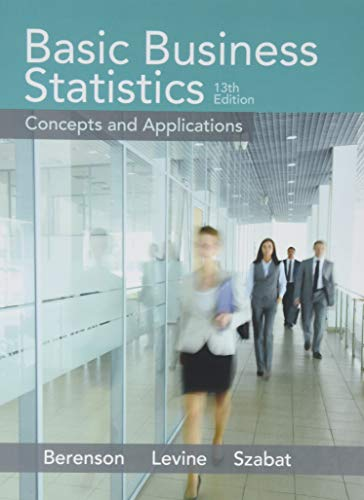 9780134068626: Basic Business Statistics Plus NEW MyLab Statistics and PHStat with Pearson eText - Access Card Package (13th Edition)