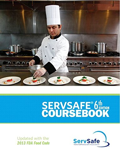 9780134074450: ServSafe Coursebook Revised with Answer Sheet Plus MyServSafeLab with Pearson eText--Access Card package (6th Edition)