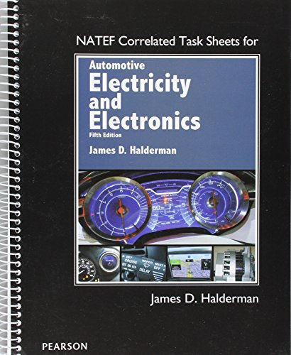 9780134074764: NATEF Correlated Task Sheets for Automotive Electricity and Electronics