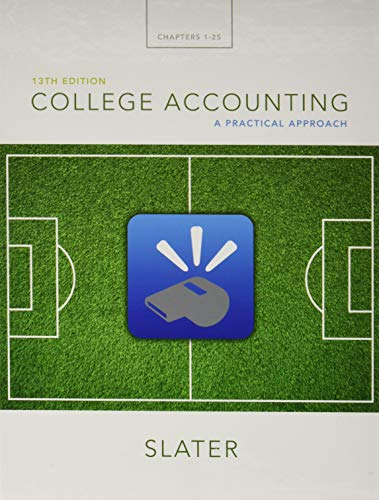 9780134077307: College Accounting: A Practical Approach Plus MyLab Accounting with Pearson eText - Access Card Package (13th Edition)