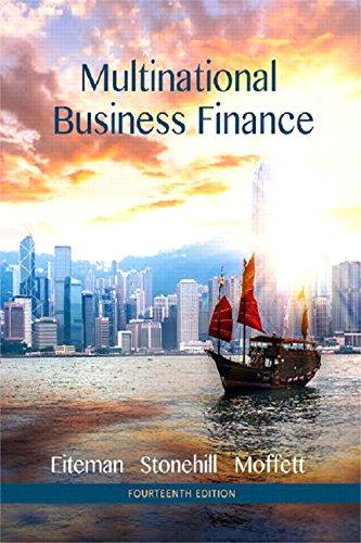 9780134077314: Multinational Business Finance