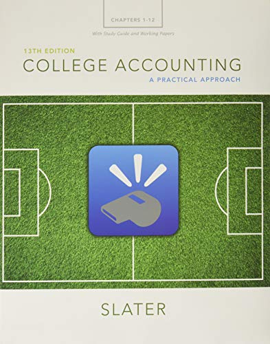 9780134077369: College Accounting Chapters 1-12 with Study Guide and Working Papers Plus MyLab Accounting with Pearson eText -- Access Card Package (13th Edition)