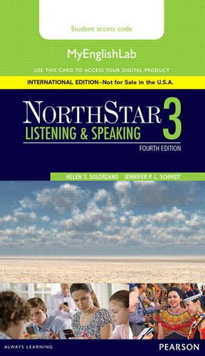 9780134078274: NorthStar Listening and Speaking 3 MyEnglishLab, International Edition (4th Edition) - Standalone access card