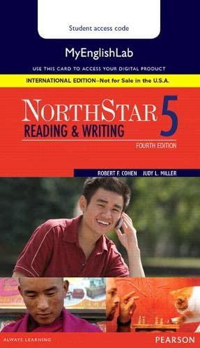 9780134078359: NorthStar Reading and Writing 5 MyLab English, International Edition (4th Edition)
