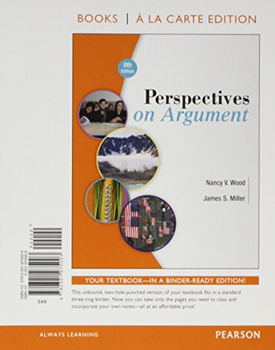 9780134079264: Perspectives on Argument, Books a la Carte Plus MyWritingLab with Pearson eText -- Access Card Package (8th Edition)