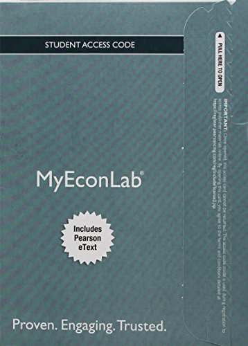 9780134079455: MyLab Economics with Pearson eText -- Access Card -- for Principles of Economics