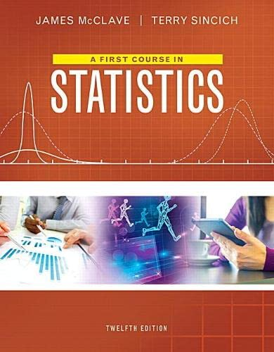 9780134080628: A First Course in Statistics (12th Edition)