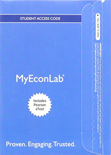 9780134081168: MyLab Economics with Pearson eText -- Access Card -- for Principles of Microeconomics