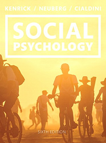 Social Psychology: Goals in Interaction Plus NEW MyPsychLab with Pearson eText -- Access Card ...