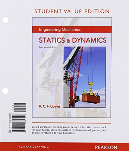 9780134082448: Engineering Mechanics: Statics & Dynamics, Student Value Edition (14th Edition)