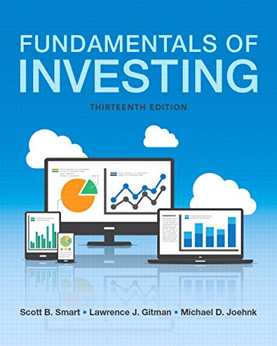 9780134083308: Fundamentals of Investing (13th Edition) (Pearson Series in Finance)