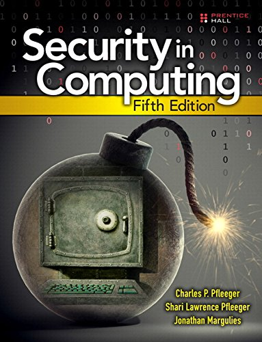 9780134085043: Security in Computing (5th Edition)