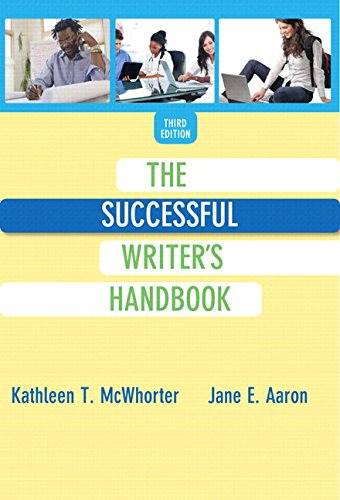 9780134085708: Successful Writer's Handbook, The, Plus MyLab Writing with eText -- Access Card Package (3rd Edition) (McWhorter Reading & Writing Series)