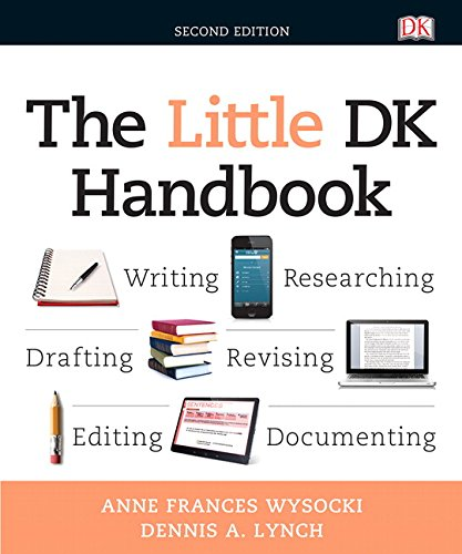 9780134086316: Little DK Handbook, The Plus MyWritingLab without Pearson eText -- Access Card Package (2nd Edition)