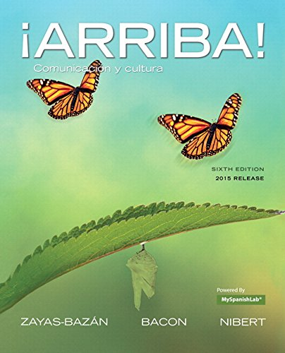 9780134086408: Arriba!: Comunicacion y Cultura, Brief Edition, 2015 Release